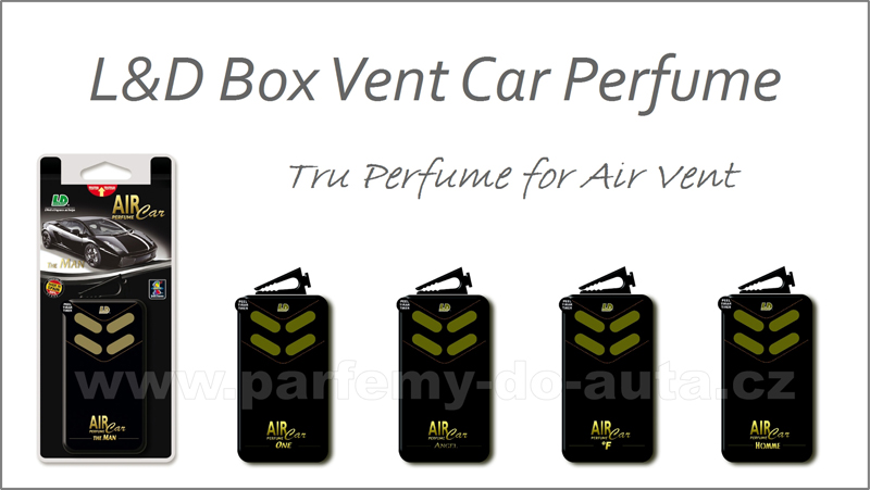 Vůně do auta Box Vent Air Car Perfume - parfém do auta