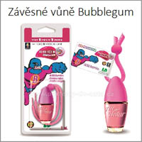 Žvýkačkové vůně do auta Little Bottle Bubblegum LD Aromaticos
