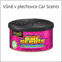 Vůně do auta California Car Scents v plechovce