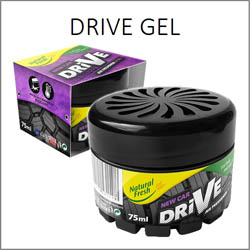 Drive Gel - gelové vůně do auta 75ml