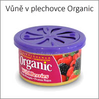 Plechovka do auta Organic Can L&D Aromaticos