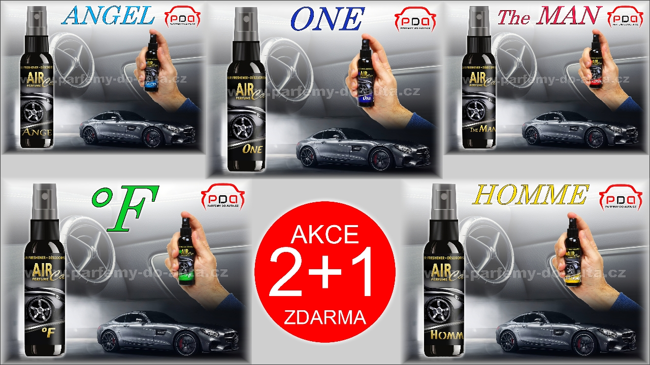 Air Car Perfume LD Aromaticos Akce 2 plus 1